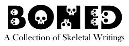 BONED logo