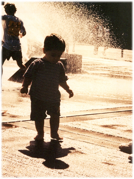 Matthew in the Fountain